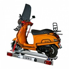Memo Zorro, foldable scooter carrier for motorhomes