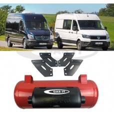 Gas it - 30ltr Under slung Refillable Gas Tank (VW Crafter, Mercedes Sprinter)