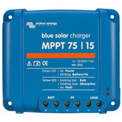 Victron Blue Solar MPPT 75/15 (12/24V) Regulator