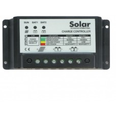Solar Technology 20Aamp Dual Battery Charge Controller