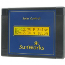 Sunworks DB2C Solar panel charge controller with LCD Display