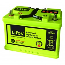 Lifos Advanced Lithium 105ah Leisure Battery