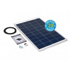 PV Logic Ridged 100watt Solar Panel Kit