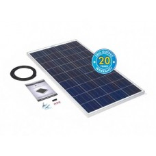 PV Logic Ridged 120watt Solar Panel Kit