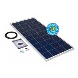 PV Logic Ridged 200watt Solar Panel Kit