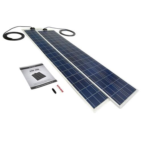 Pv Logic Flexi 120watt X2 60w Solar Panel Kit