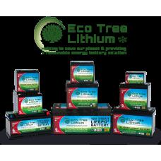 Eco Tree LiFePO4 Deep Cycle Lithium Batteries