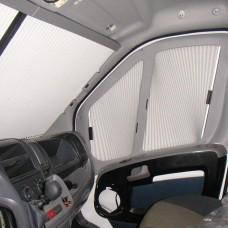 Remi IV Blinds (Cab Doors) Fiat, Peugeot, Citroen  2007 -2011 X250 - Grey