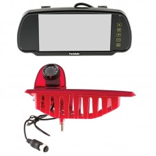 "Parksafe 7"" Clip On Mirror Monitor with Renault Master Brake light camera"