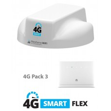 Motorhome WiFi 4G Aerial - Smart Flex (Pack 3)