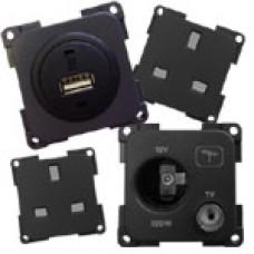 Internal 12v, TV, USB, 240v (Mains) Socket