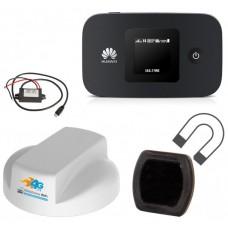 Motorhome WiFi4G Roof Antenna & Huawei MiFi (Pack 2)