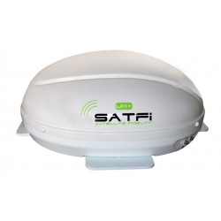 SatFi UK+ Ultra Slimline Static Dome