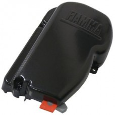 Fiamma F45S black awning left hand end cap (98673H001).