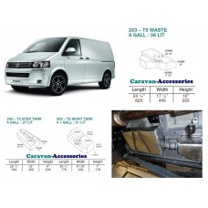 CAK Fresh and Waste Water Tanks - Volkswagen T5 & T6 Camper Conversions VW