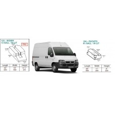 CAK Fresh and Waste Water Tanks - Ducato, Boxer, Relay X244 2001-2006